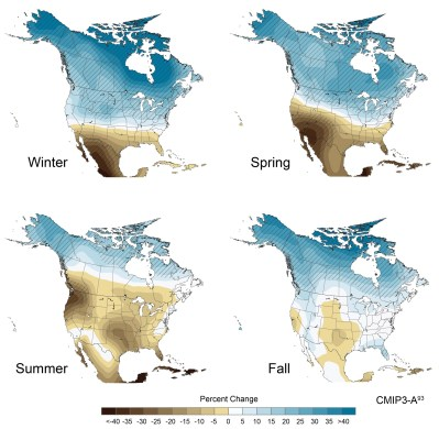 (Figure 2) United States Government Report on Climate Impacts, 2009.