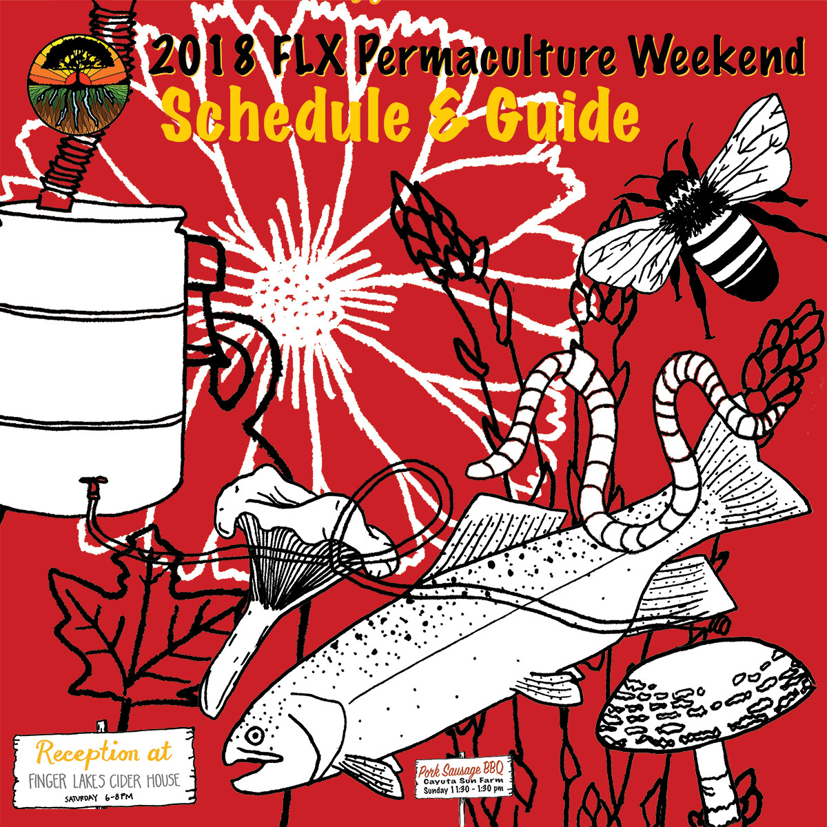 FLX Permaculture Weekend Schedule Released