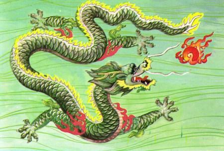 동양의 용 - 공룡과 용