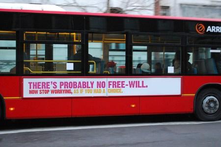 자유의지란 없을 겁니다. 선택이 있는것처럼 걱정하지 마세요 버스