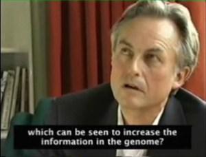 리처드 도킨스 - 유전 정보 증가 질문에 침묵