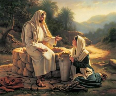 예수님과 사마리아 여인