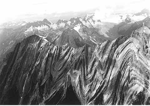 습곡 - 홍수 지질학이 더 우월한 증거
