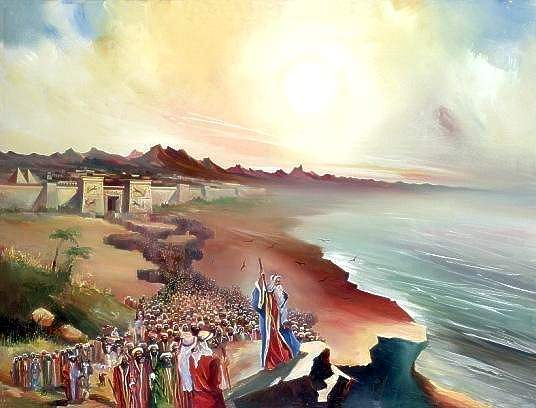 200 만명 출애굽 - 홍해의 기적