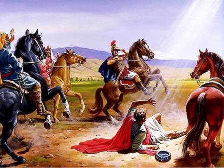 다메섹에서 예수님을 만난 사도 바울