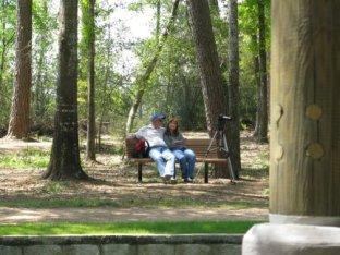 Enjoying Sunday in the park!