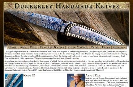 Dunkerley Handmade Knives
