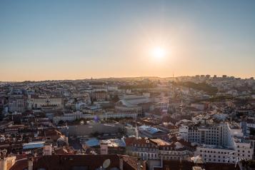 lisbon view city