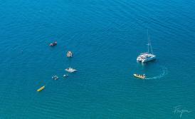 nazare ocean boats