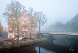 lüneburg nebel fluss