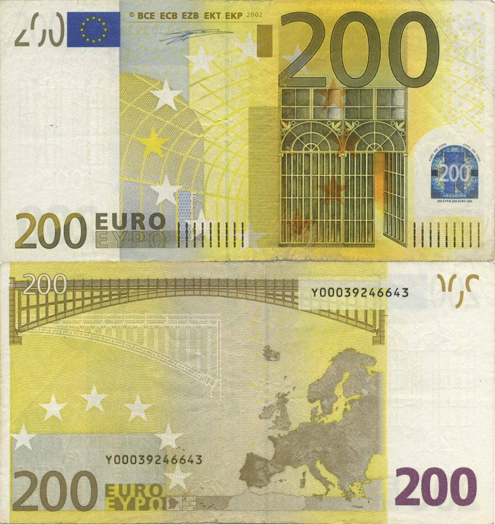 200 euró