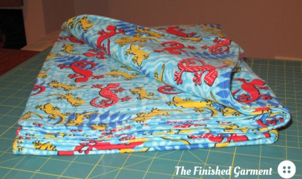 Gecko Blanket (side view)