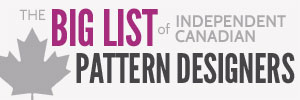 The Big List of Independent Canadian Pattern Designers