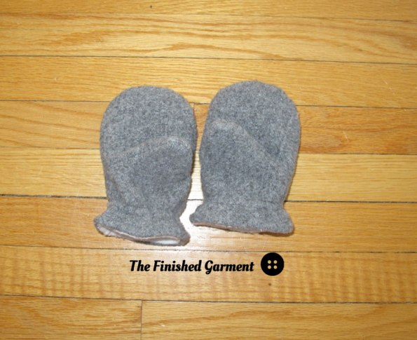 Mittens by Oliver + S, sewn by The Finished Garment.