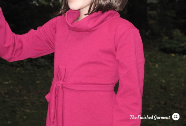 Heidi & Finn Cowl Neck Dress, sewn by The Finished Garment