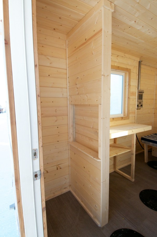 Ice Fishing Hunting Shack Finished Right Contracting