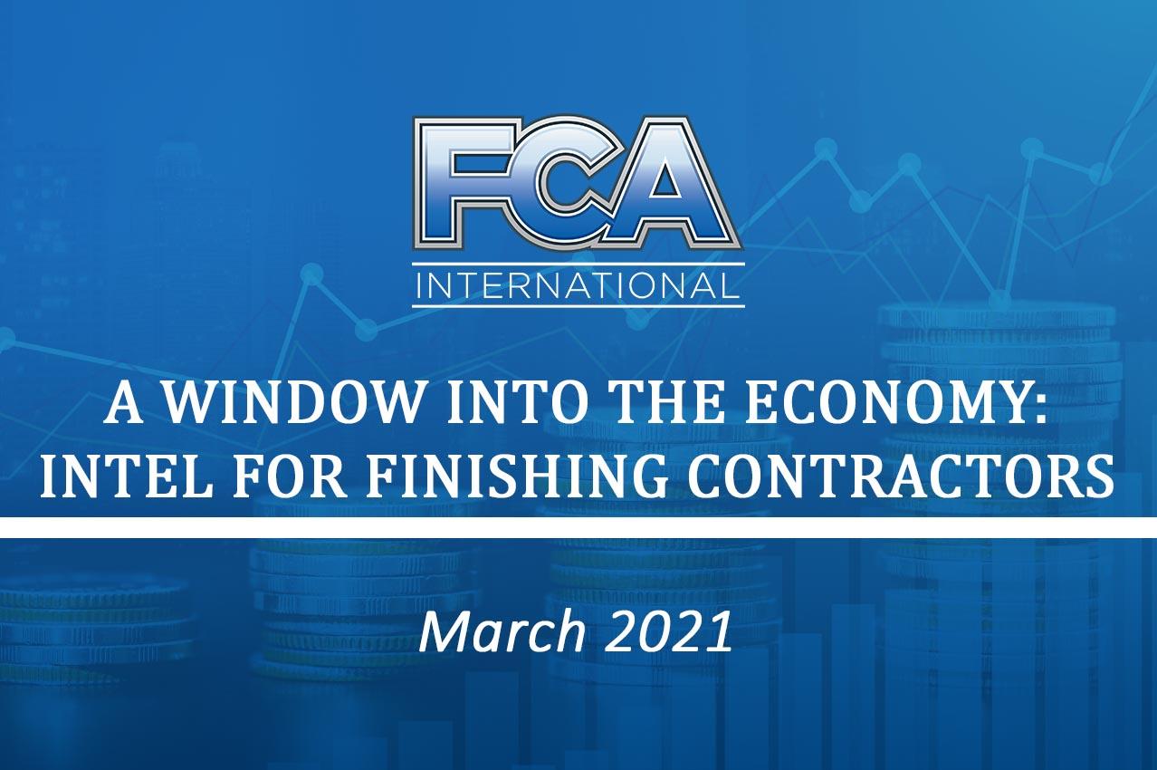 FCA News: Economic Update March 2021
