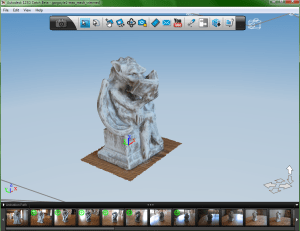 Gargoyle 123D Catch