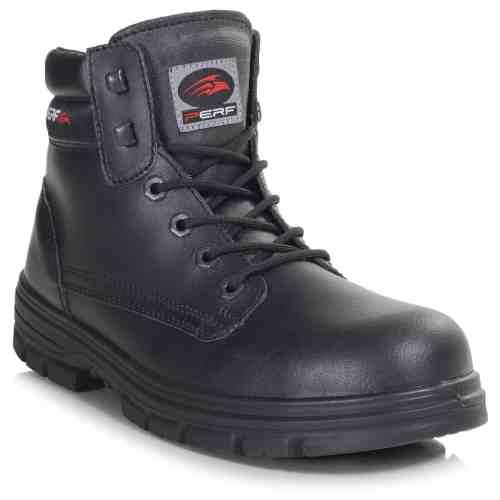 PB23-BLK - Derby Boot - Right Angle (Square)
