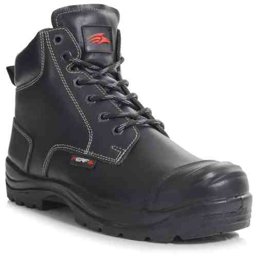 PB10C-BLK - Derby Boot - Right Angle (Square)