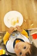 Zaterdag: Baby Led Weaning is ronduit MESSY.