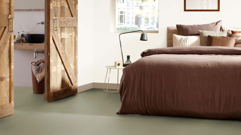 Kleur voor slaapkamer muur moderne slaapkamer met vrijstaand bed