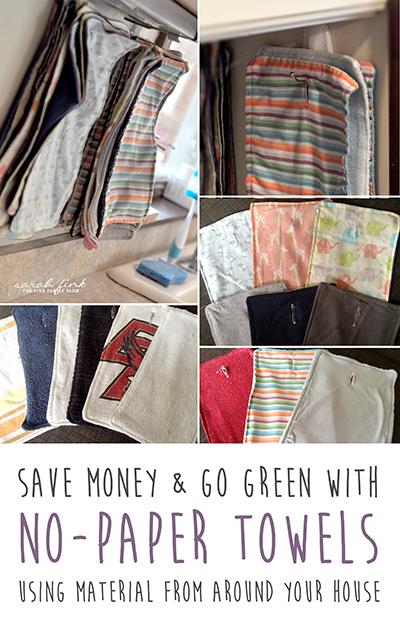 save money go green