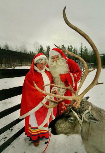 Ou Vit Le Pere Noel : Interview, Exclusive, Mère, Noël,, Korvatunturi,, Finlande, VoicilaFINLANDE