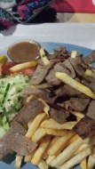 Kabab and fries (Lapland)