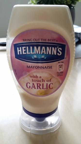 Mayo with garlic - OMG!
