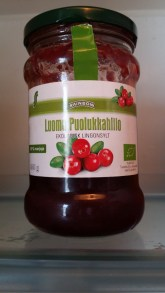 Ligonberry jam (to eat with reindeer)