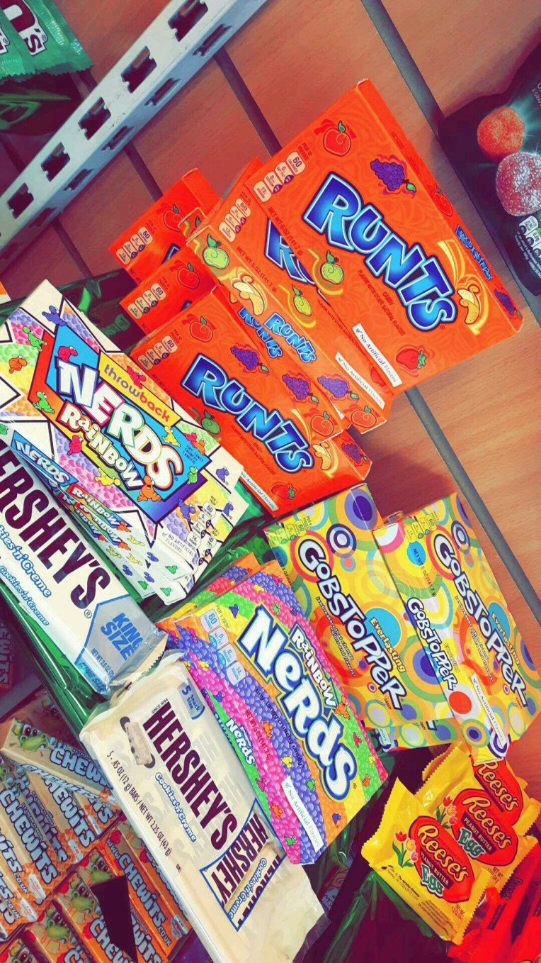 Our USA Sweets Section