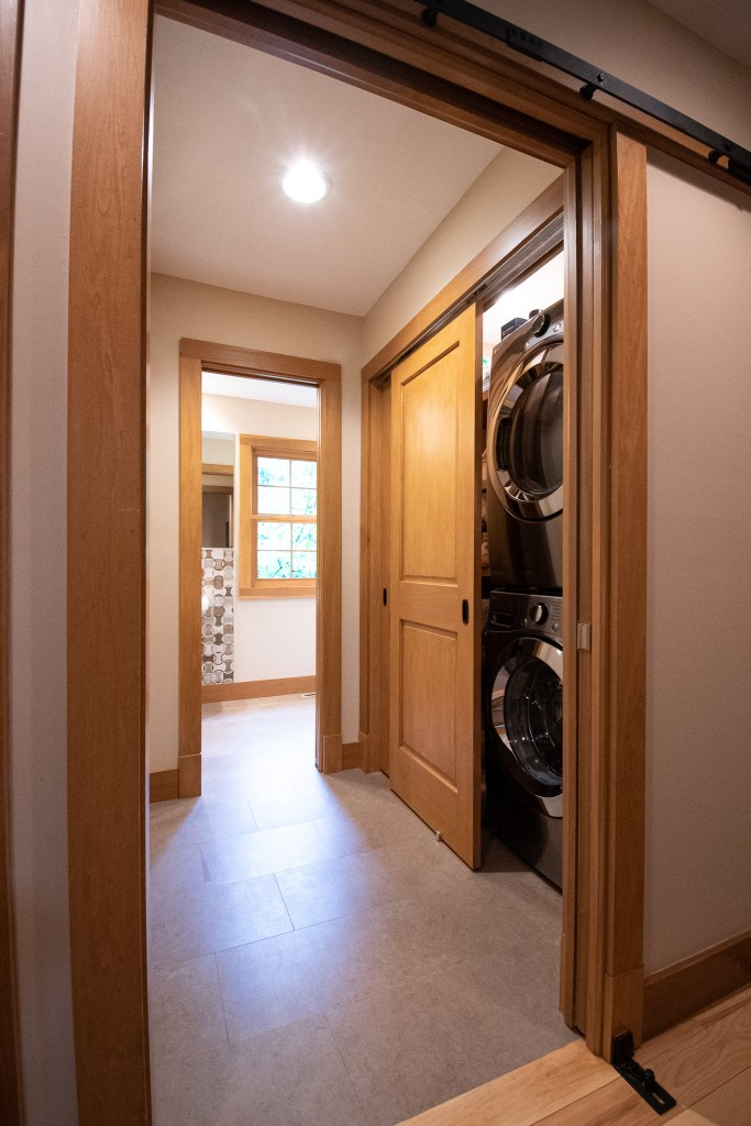 Half Bath with Laundry Room