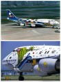 "All Nippon Airways B-747 in ""Snoopy Go!"" livery"