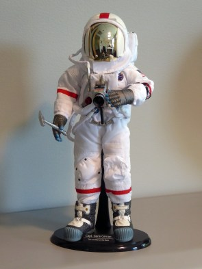 Apollo 17 Commander Capt. Gene Cernan, the last man on the moon, in 1/6th scale