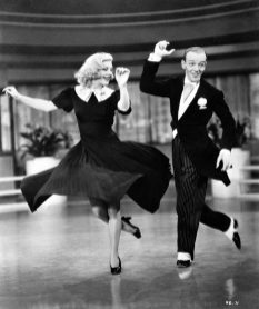 Ginger Rogers & Fred Astaire in Swing Time (1936)