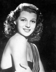 One of my favourite photos of Rita Hayworth. I've only ever seen it on this French postcard I found in a shop in Hollywood years ago.
