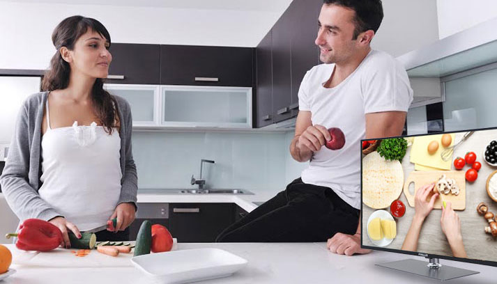 smart tv kitchen remodeling companies small tvs televisions are the answer finlux