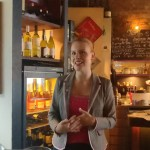 Milla Mouhu beim Finnforum Netzwerkabend September 2017
