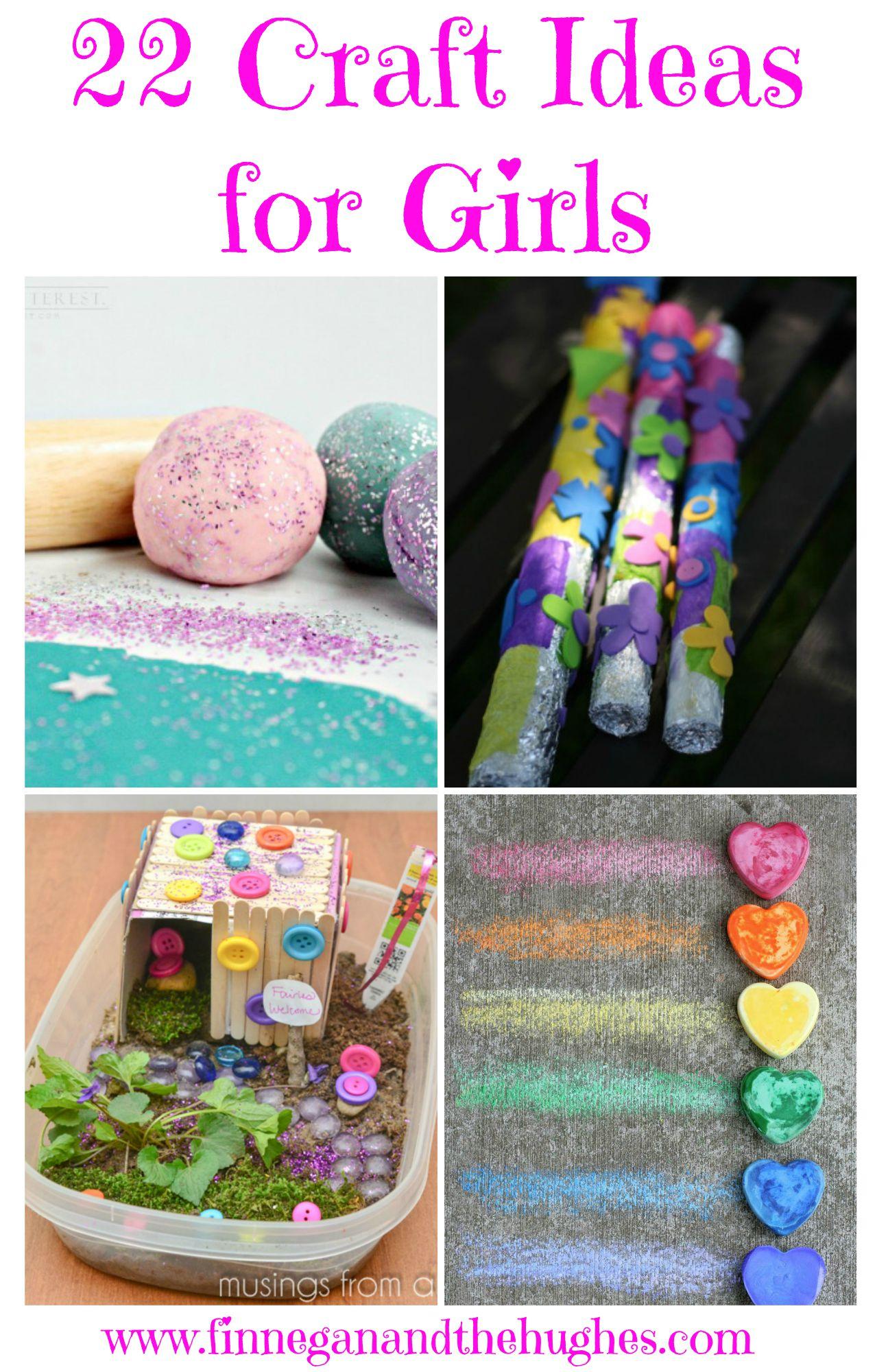22 Craft Ideas For Girls