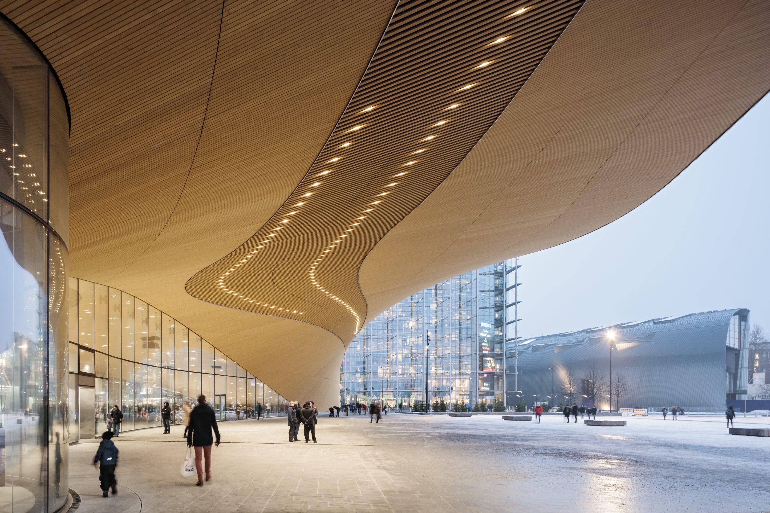 Helsinki Central Library Oodi (c) ALA Architects