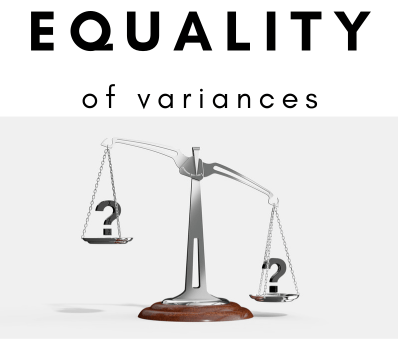 Equality of Variances in R