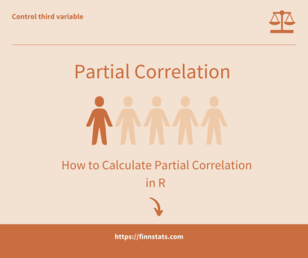 How to Calculate Partial Correlation in R