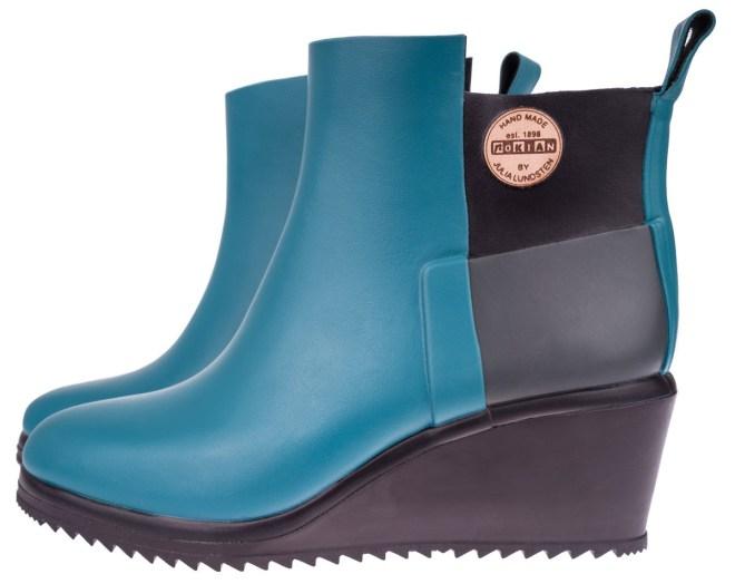 Nokian Footwear (Julia Lundsten) Ankle Wedge, Petrol | 129,- EUR | Foto: Cool Standard PR