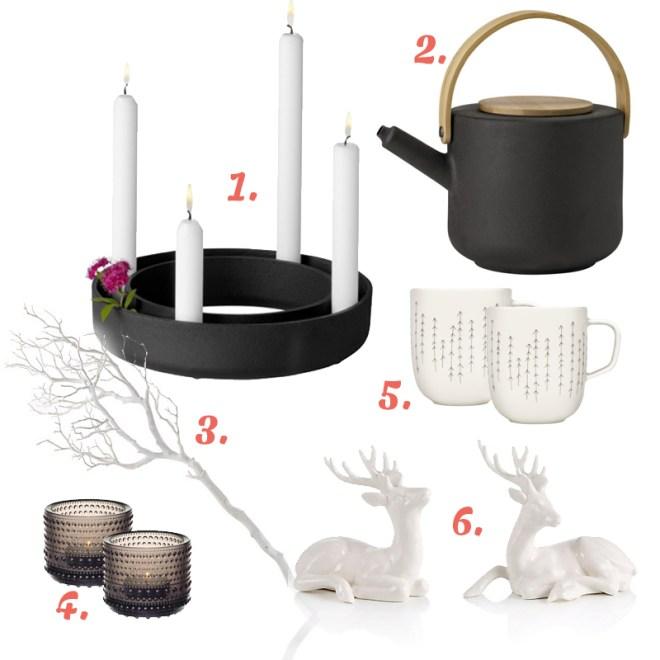 Advent in Schwarz und Weiß