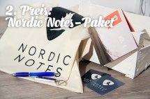 2. Preis: Nordic Notes Paket