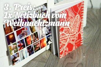 3. Preis: Notizbuch