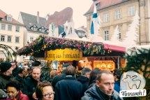 Honig aus Finnland auf dem Weihnachtsmarkt in Bamberg