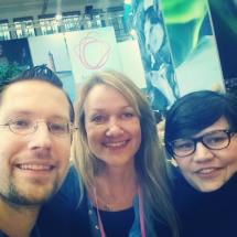 Auf der ITB2016 mit Rene von FinnTouch und Tarja von tarjasblog.de