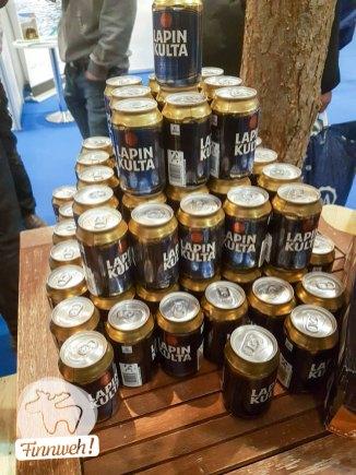 So feiert man den NORDIS Travel Award,... mit finnischem Bierchen,...